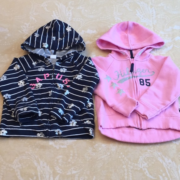 16fb088a Full Zip Hoodies Pink Blue Fleece Lined Stripes. M_5b914cdbc2e88e24fef894e8